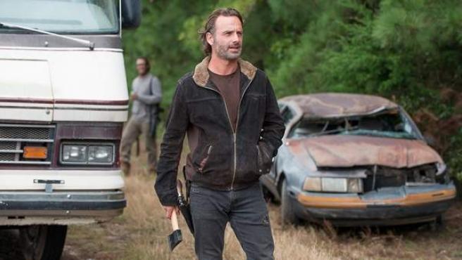 Andrew Lincoln es Rick en 'The Walking Dead'.