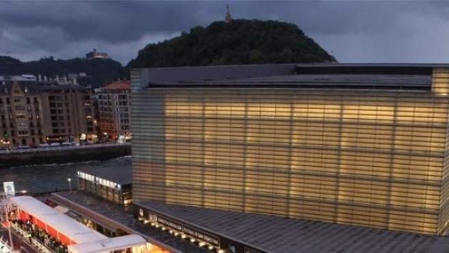 El Kursaal, sede del Festival de cine de San Sebastián.