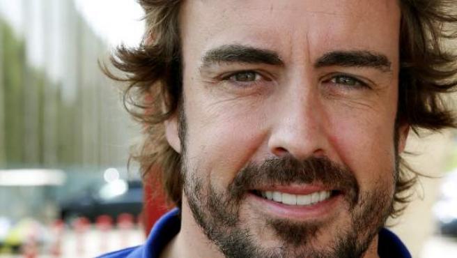 El piloto español de McLaren Fernando Alonso.