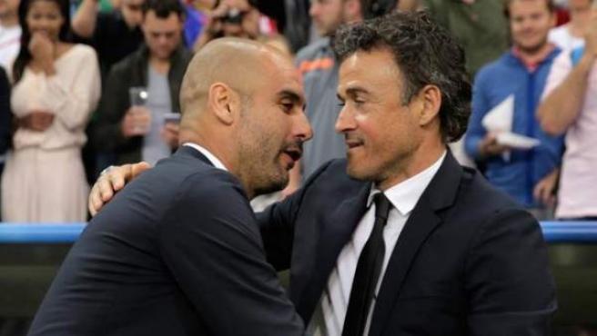 Guardiola bendice a Luis Enrique como seleccionador: 'Es excepcional'
