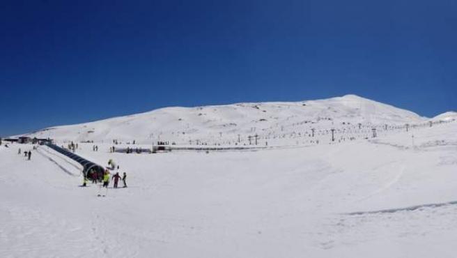 Estación invernal de Sierra Nevada.