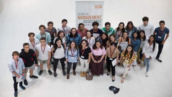 Alumnos participantes en The World of Business de la Universidad de Navarra