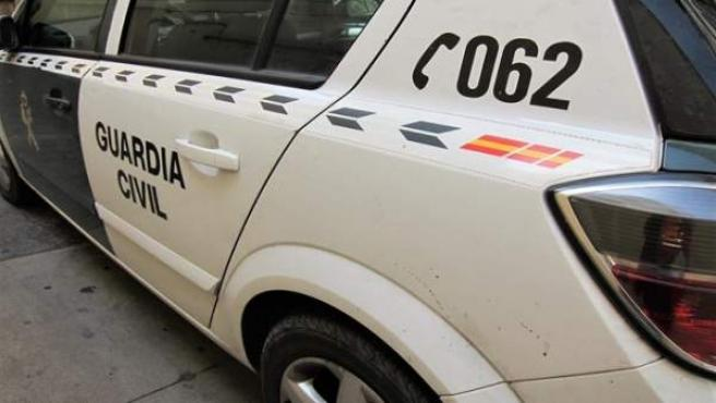 Coche patrulla de la Guardia Civil