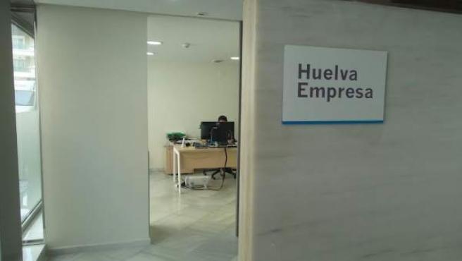 Oficina 'Huelva Empresa' de Huelva.