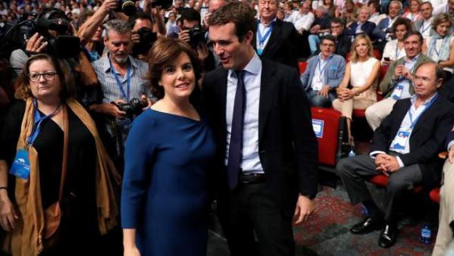 Sáenz de Santamaría y Casado en el XIX Congreso del PP.