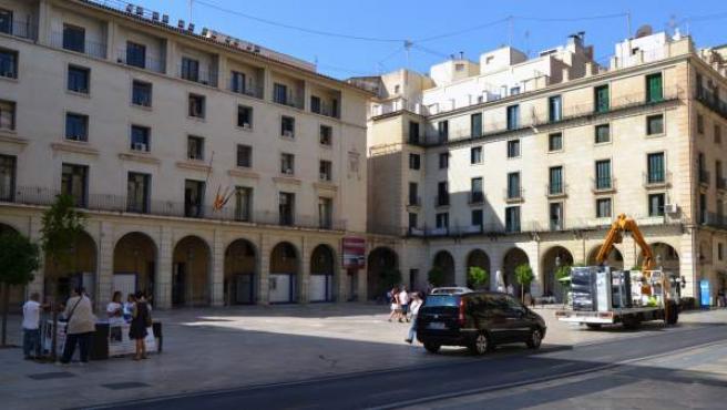 Edificio de la Audiencia Provincial de Alicante.