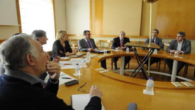 Reunión del grupo de trabajo de Comercio Exterior con China