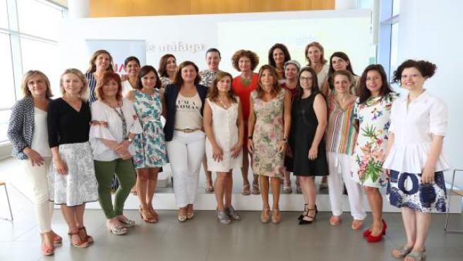 Movimiento inspiring girls málaga voluntaria reunión mata diputación