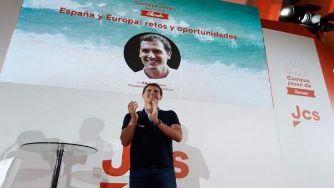 Albert Rivera, este sábado en Alicante