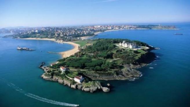 Vista aérea de Santander (Archivo)