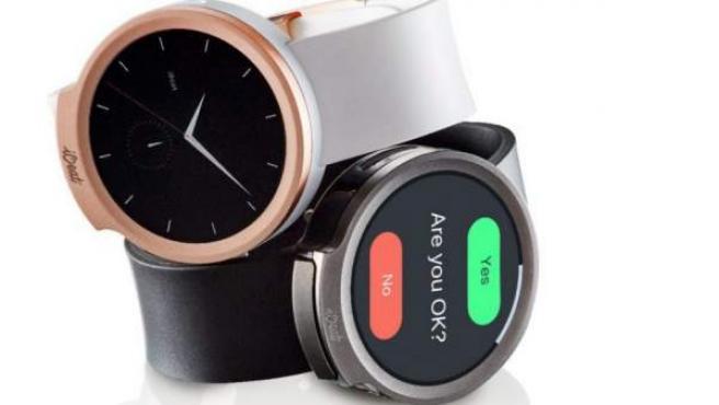 El reloj inteligente iBeat que anuncia de dolencias cardíacas.
