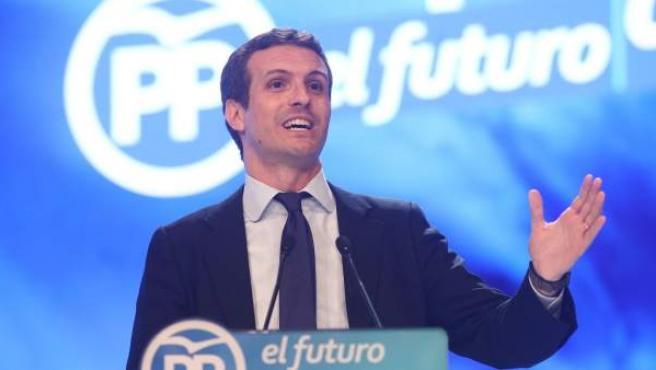 Casado, nuevo presidente del PP.