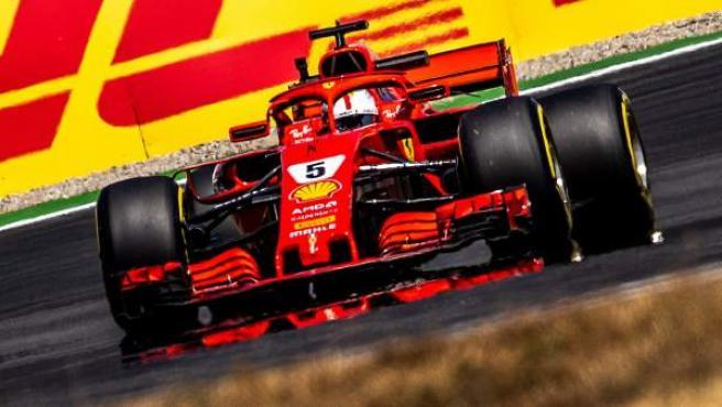 Sebastian Vettel, en el GP de Alemania.