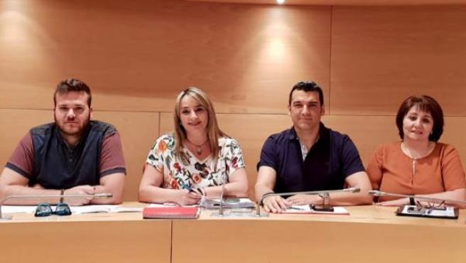 El PSOE plantea un plan para soterrar el cableado aéreo en Huétor Vega (Granada)
