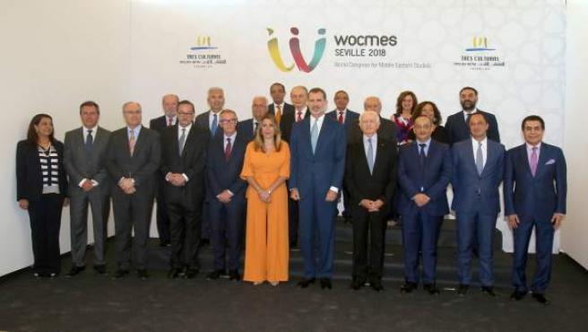 El Rey Felipe VI preside la inauguración de la V edición Wocmes
