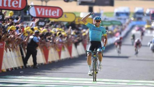El ciclista español Omar Fraile