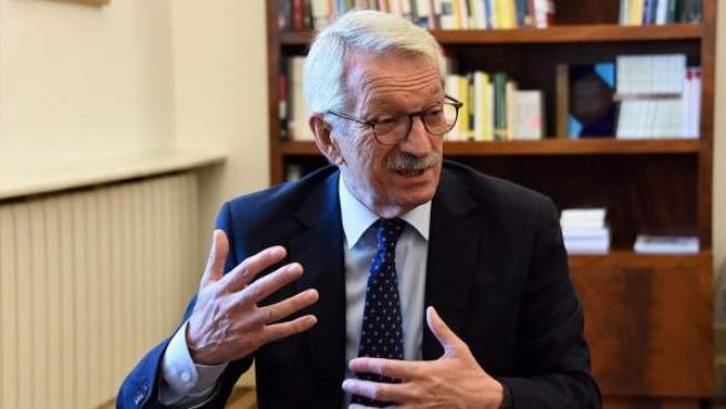 El secretario de Estado de Educación, Alejandro Tiana.