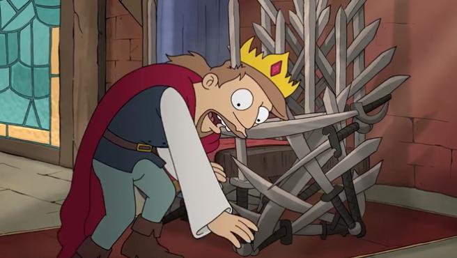 '(Des)encanto': lo nuevo de Matt Groening se presenta a ritmo a David Bowie