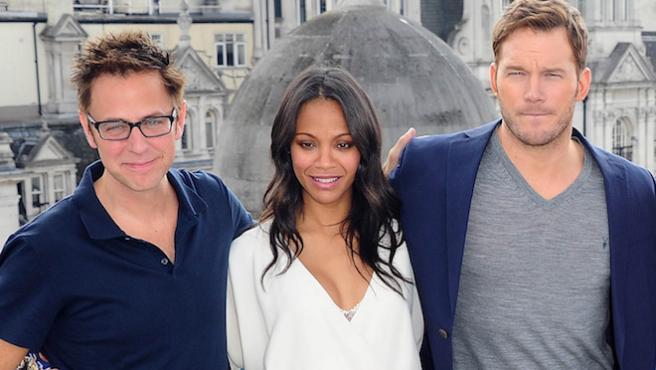 Caso James Gunn: Chris Pratt, Karen Gillan y Zoe Saldana se pronuncian en Twitter