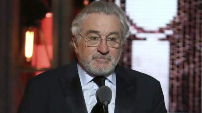 El actor Robert De Niro, en la 72 edición de los premios Tony.