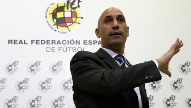 El presidente de la RFEF, Luis Rubiales.