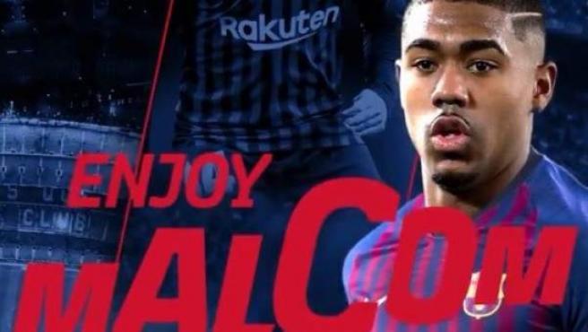 Malcom Filipe Silva, nuevo jugador del Barça