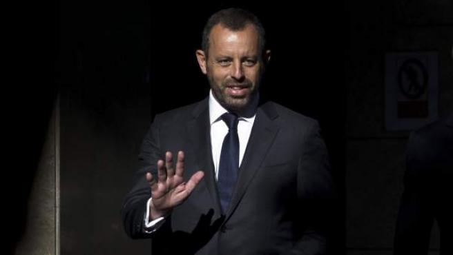 Foto de archivo de el expresidente del Barça Sandro Rosell, a su llegada a la Audiencia Nacional.