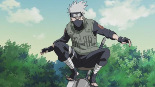 Kakashi, uno de los ninjas protagonistas de la serie 'Naruto'.
