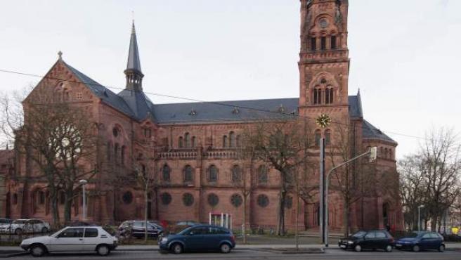 Imagen de la iglesia de San Juan, en la ciudad alemana de Friburgo.
