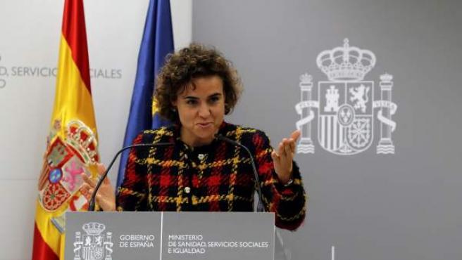 Dolors Montserrat, durante su etapa con ministra de Sanidad.