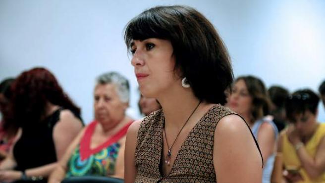 Juana Rivas, en el Juzgado de lo Penal 1 de Granada.