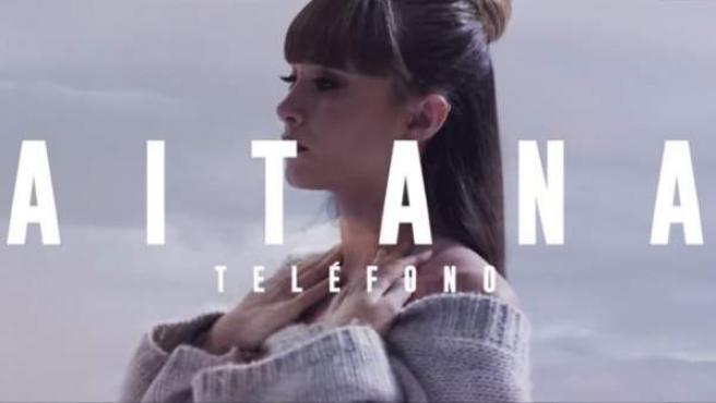 Aitana Ocaña, en el videoclip de 'Teléfono'.