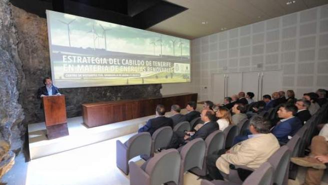 [Grupocanarias] Nota De Prensa Y Fotografías: Cabildo Energías Renovables