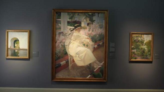 Exposición Sorolla, un jardín para pintar en el Museo Sorolla en Madrid