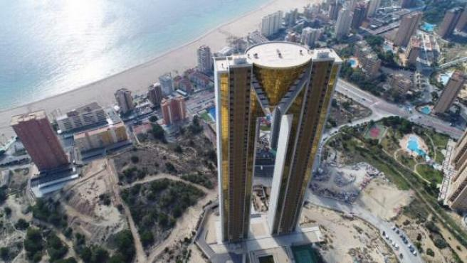 Rascacielos Intempo de Benidorm