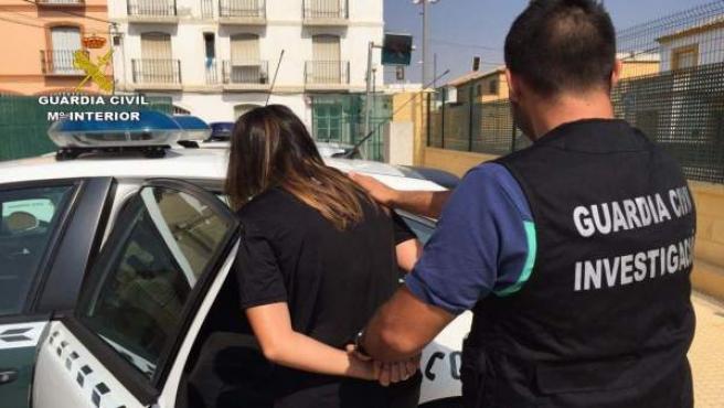 Detención de la Guardia Civil