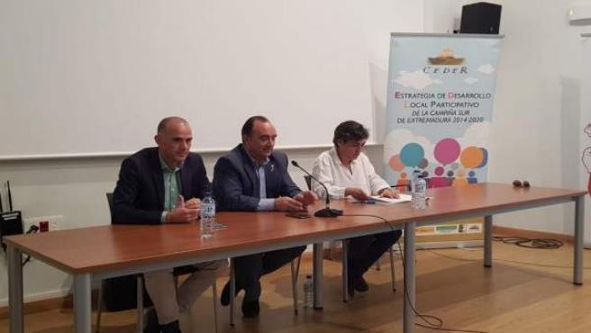 Presentación de la convocatoria de ayudas al desarrollo en Campiña Sur