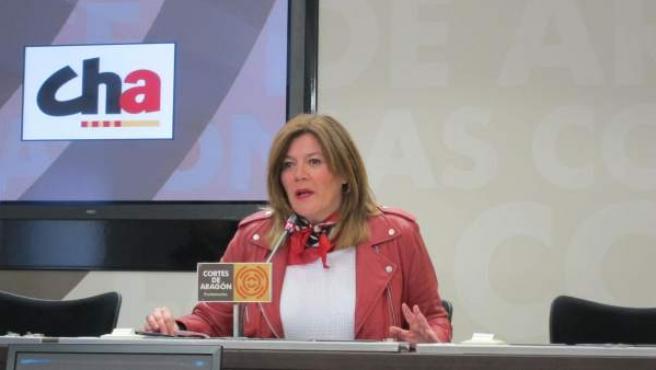 La diputada de CHA, Carmen Martínez Romances