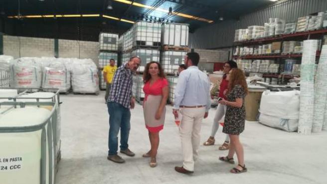 Ciudadanos visita la fábrica de Graphenstone