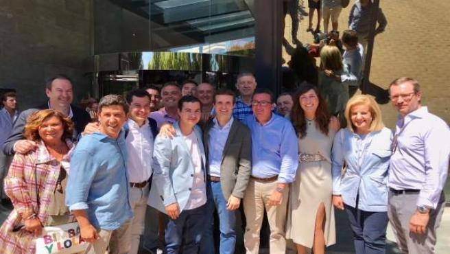 Delegación del PP de Huelva a la Junta Directiva del PP-A