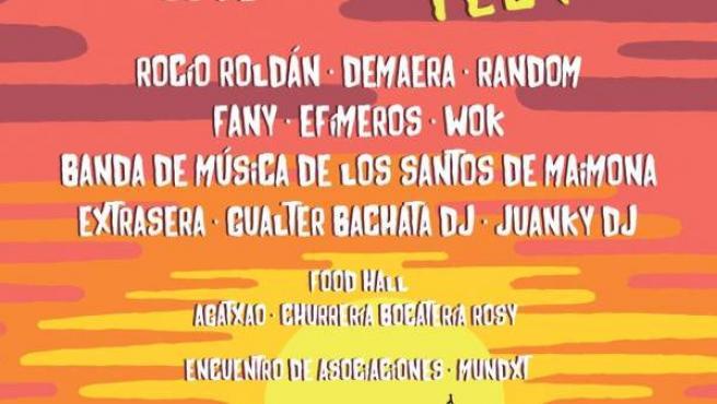 Cartel del Piropo Fest de Los Santos de Maimona