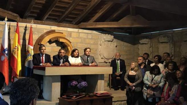 Día de las Instituciones en la Casa de Juntas de Puente San Miguel