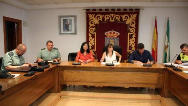 Junta Local de Seguridad en Las Gabias (Granada)