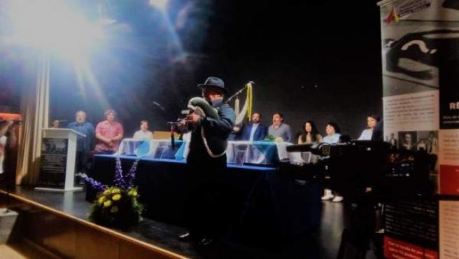 Acto celebrado por la ARMH en Val do Dubra