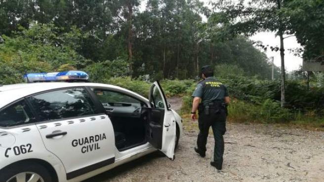 Agente que participó en la búsqueda del joven que se desorientó en Pontevedra