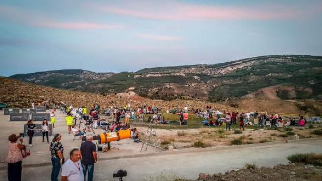 Star Party en Arcos de las Salinas (Teruel).
