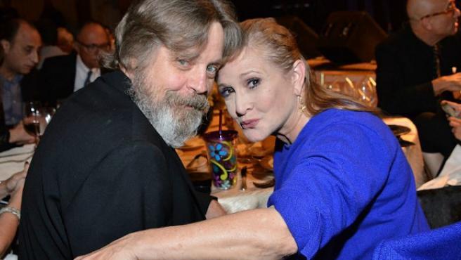 'Star Wars' utilizará planos descartados de Carrie Fisher para el 'Episodio IX'