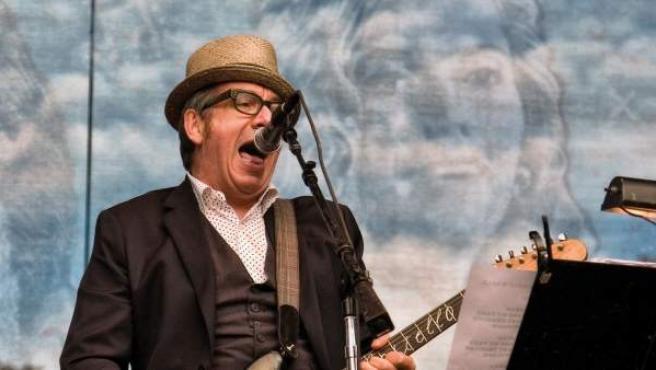 Elvis Costello en el Hardly Strictly Bluegrass.