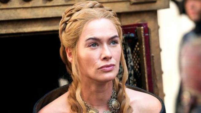 La actriz Lena Headey, en el papel de Cersei Lannister en la serie 'Juego de tronos'.