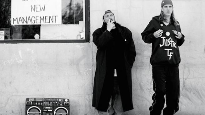 Kevin Smith celebra su cumpleaños con un guiño a 'Clerks'